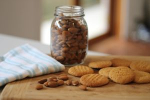 Almond-Biscuits-and-almond-jar-300x200