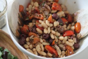 Bean-Salad-with-Olives-and-Tomatoes-Mix-1-300x200