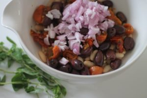 Bean-Salad-with-Olives-and-Tomatoes-in-Style-300x200