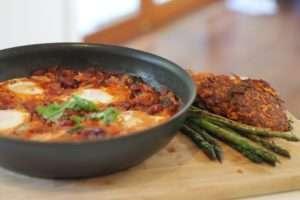 Egg-Ratatouie-in-a-pan