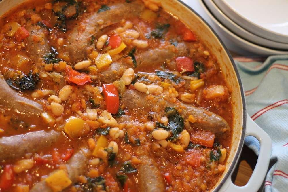 Sausage-Bean-Casserole