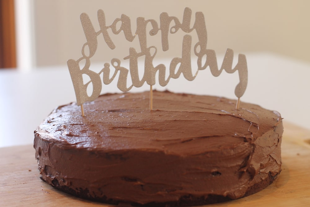 Pleasing Delicious Allergy Friendly Chocolate Cake Beat The Treats Personalised Birthday Cards Epsylily Jamesorg