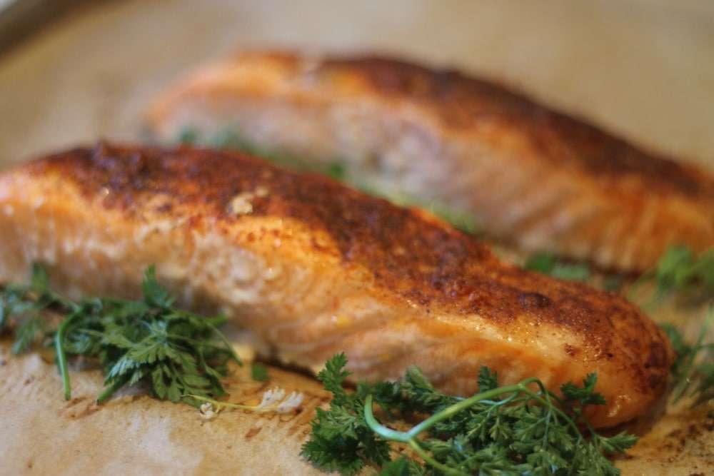 Baked Paprika Salmon