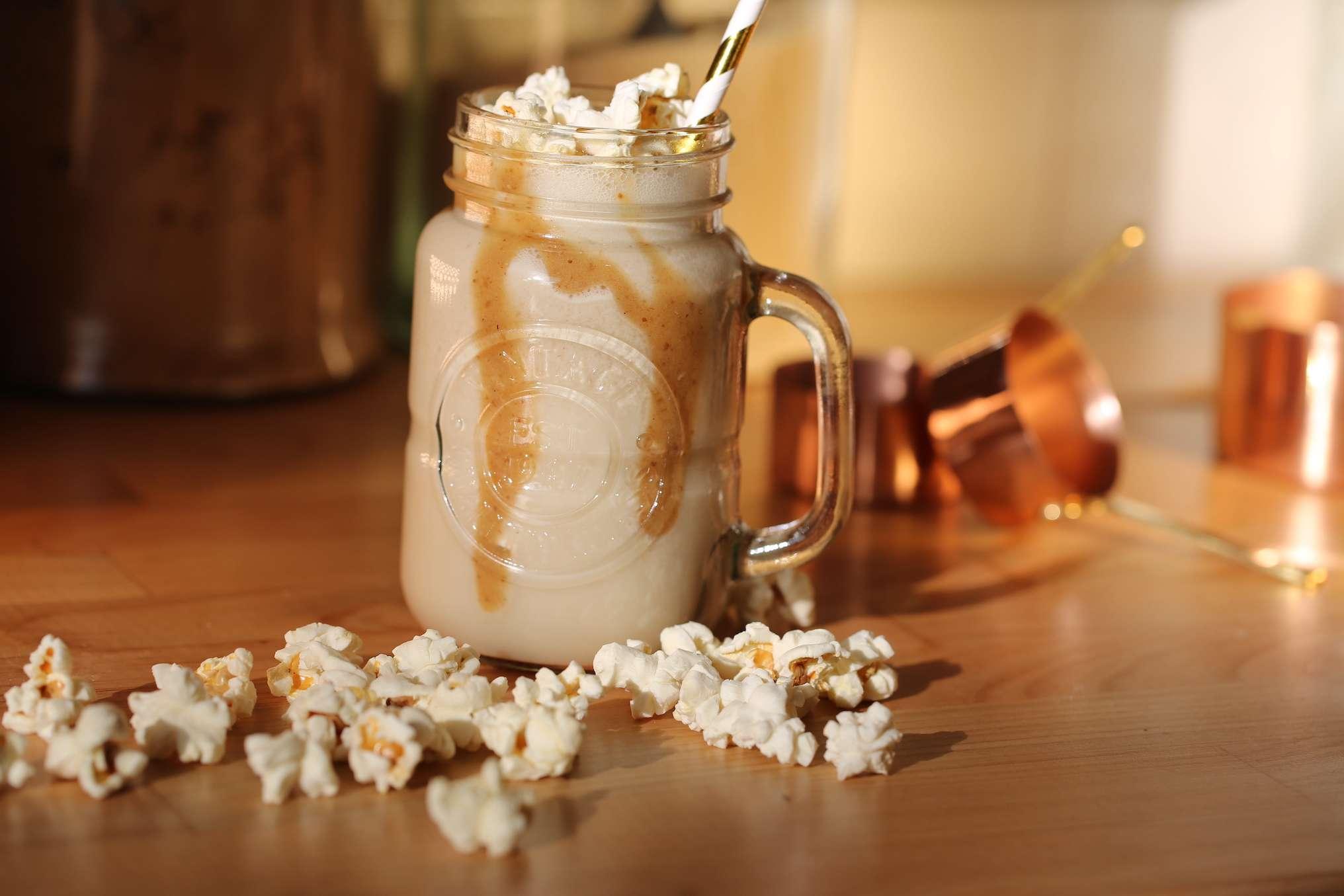 Salted Caramel Mylk Shake
