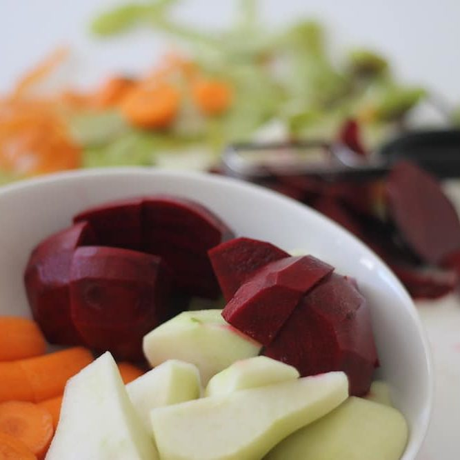 Fruit and vegetable puree