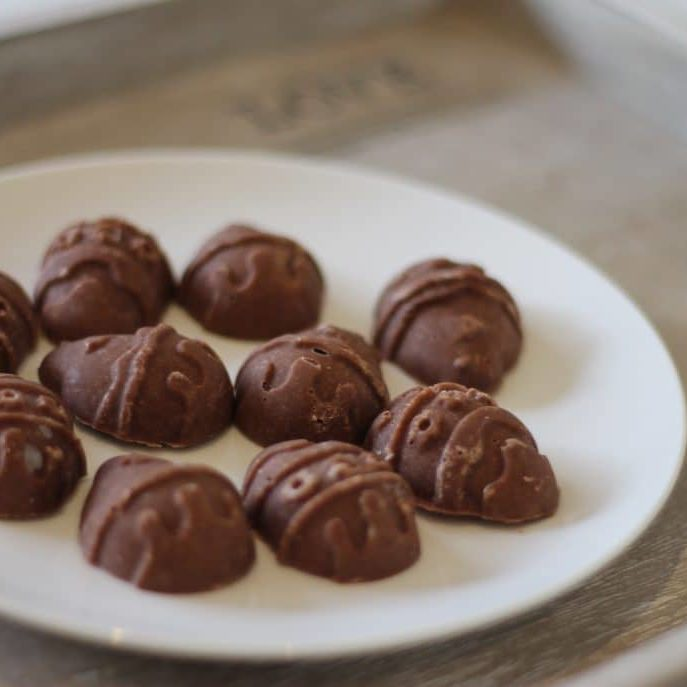 Dairy free chocolate easter eggs